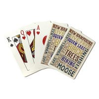 NH - Typography - LP Artwork (Poker Playing Cards Deck)