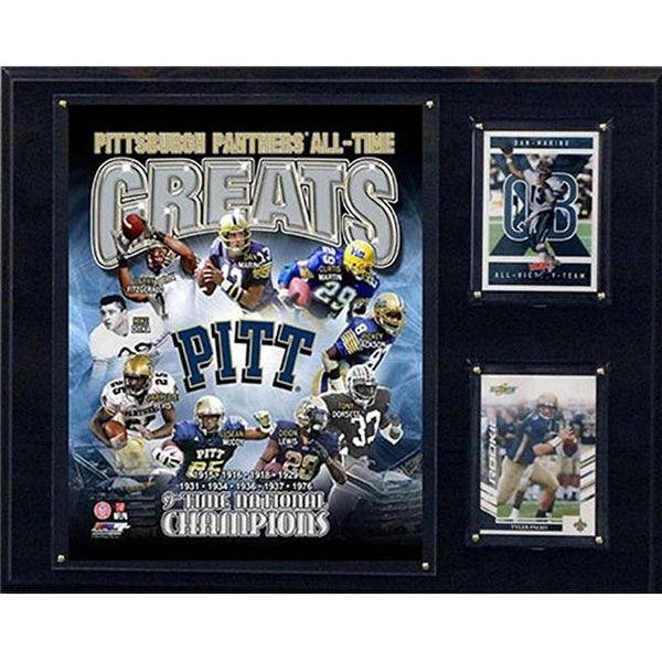30bb5f1c0 Shop NCAA 12 x 15 in. Pittsburgh Panthers All-Time Greats Photo Plaque -  Free Shipping On Orders Over $45 - Overstock.com - 23800400