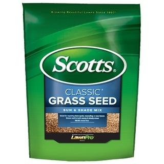 Scotts 17183 Classic Grass Seed Sun & Shade Mix, 3 Lbs