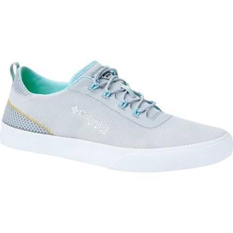Columbia Women's Dorado PFG Sneaker Silver Grey/Coastal Blue