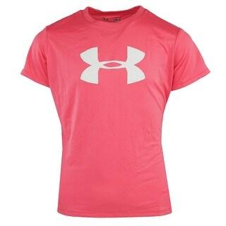 Under Armour Girl's UA Big Logo Graphic T-Shirt