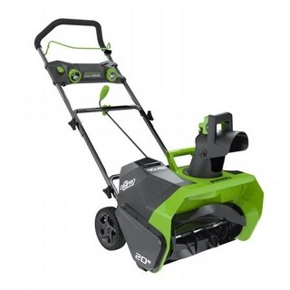 Gmax 20 in. 40V Cordless Snow Thrower