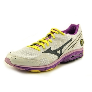 Mizuno Wave Rider 17 Women 2A Round Toe Synthetic White Running Shoe