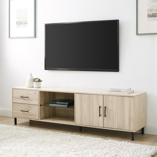 Link to Carson Carrington 70-inch Modern Low Profile TV Console Similar Items in TV Stands & Entertainment Centers
