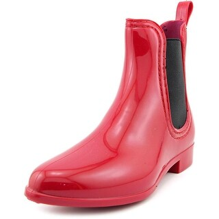Dirty Laundry Chariot Women Round Toe Synthetic Red Rain Boot