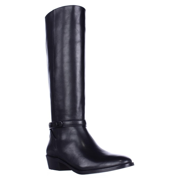 Coach Caroline Tall Dress Riding Boots, Black