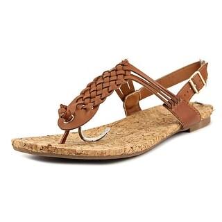 Rampage Quipper Women Open-Toe Synthetic Brown Slingback Sandal