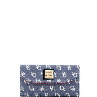 Dooney & Bourke Madison Signature Continental Clutch (Introduced by Dooney & Bourke at $118 in Jan 2018)
