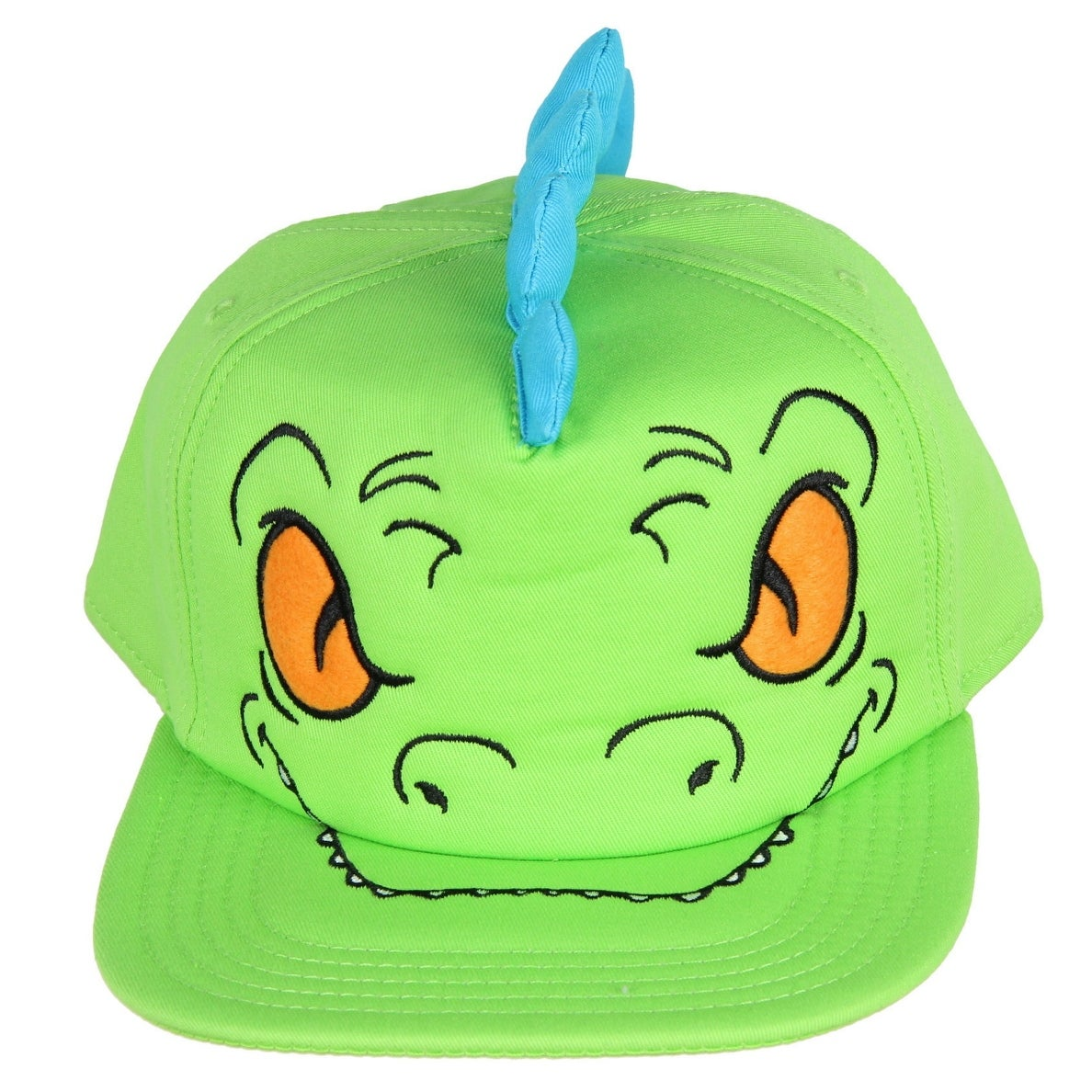 the best attitude da04d e8806 Shop Rugrats Hat Reptar Snapback Bigface Dad Nickelodeon Adult Costume Pop  Cap OSFM - On Sale - Free Shipping On Orders Over  45 - Overstock - 22251394