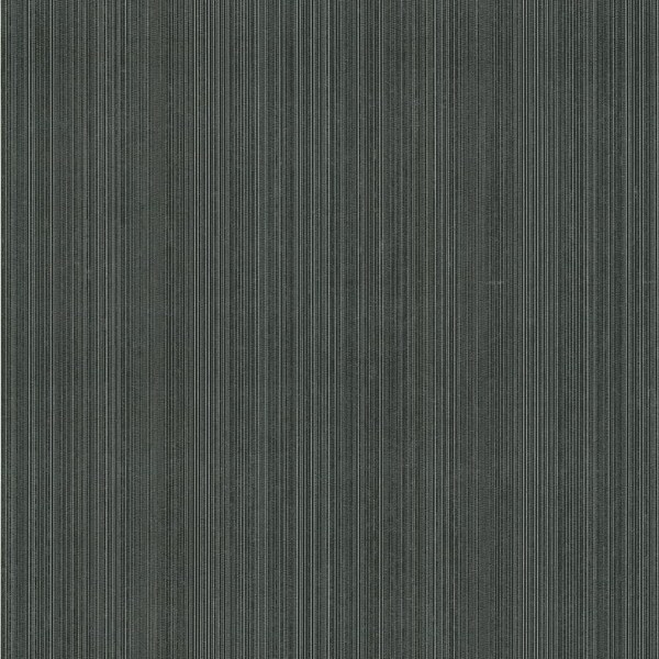 Brewster DL30460 Suelita Charcoal Striped Texture Wallpaper - N/A