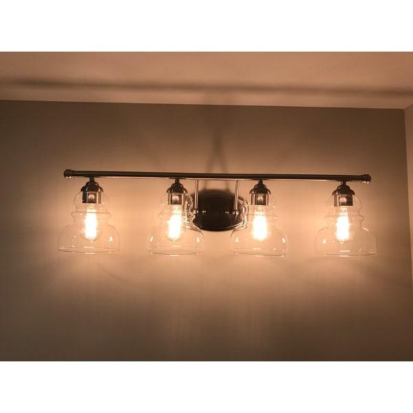 shop millennium lighting 7334 brighton 4 light 33 wide bathroom