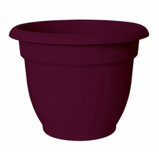 """Bloem AP0629 Ariana Planter with Self-Watering Disc Insert, Passion Fruit, 6"""""""