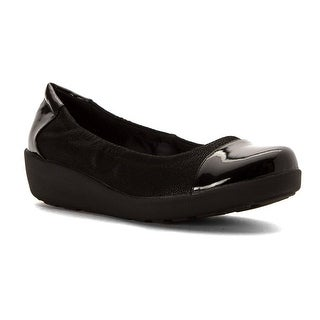 Easy Spirit Womens Kable Cap Toe Wedge Pumps