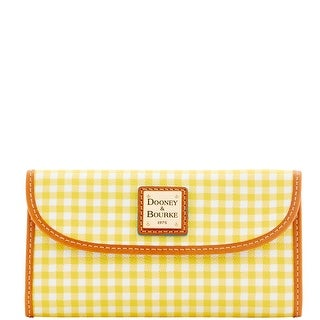 Dooney & Bourke Small Gingham Continental Clutch (Introduced by Dooney & Bourke at $118 in Jan 2016)