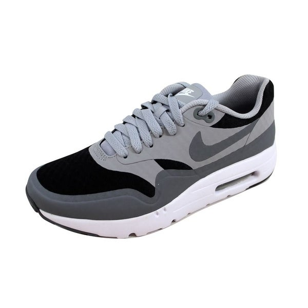 Shop Nike Men's Air Max 1 Ultra Essential BlackCool Grey