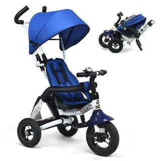 Link to Gymax 6-In-1 Kids Baby Stroller Tricycle Detachable Learning Toy Bike Similar Items in Strollers