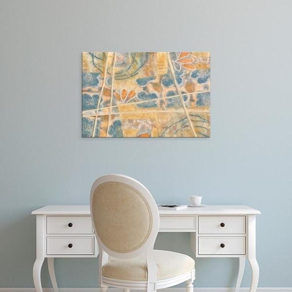 Easy Art Prints Karen Deans's 'Layers of Pastel II' Premium Canvas Art