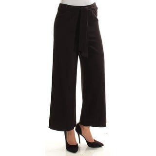 KENSIE $69 Womens New 1408 Black Wide Leg Wear To Work Pants XS B+B