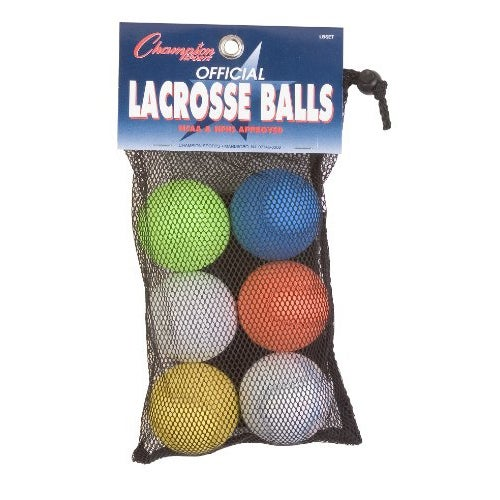 Champion Sports Lacrosse Ball Set