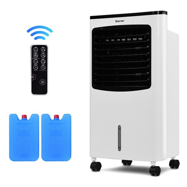 Shop Costway Portable Air Conditioner Cooler Fan Filter