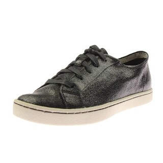 Hush Puppies Womens Ekko Gwen Casual Shoes Crackle Suede