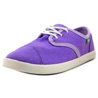 Sanuk Lil Mollie Round Toe Canvas Sneakers