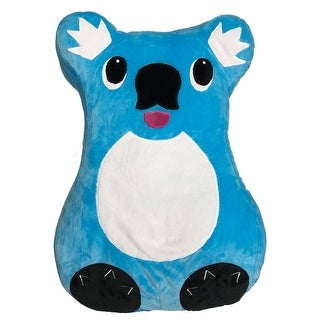 Comfort Companion Snuggly Koala Pet Pillow - Stuffed Animal Cushion with Storage Pocket for Kids - 13 in. x 3 in. x 16 in.