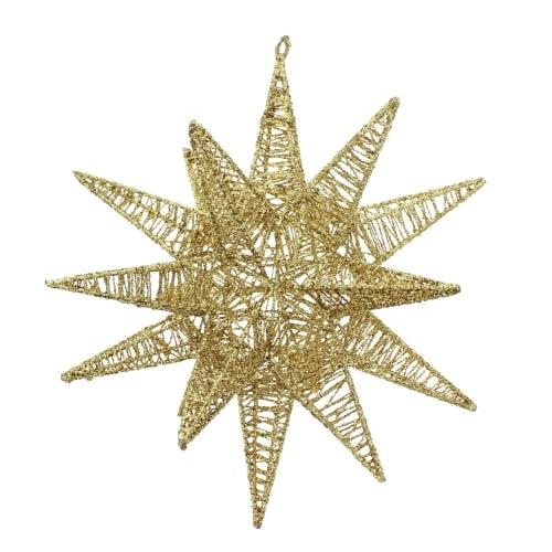 12 Inch Gold Moravian Star