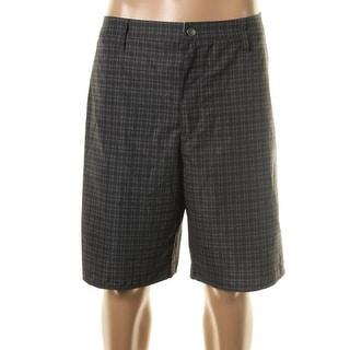 Quiksilver Mens Plaid Board Short Walking Shorts - 32