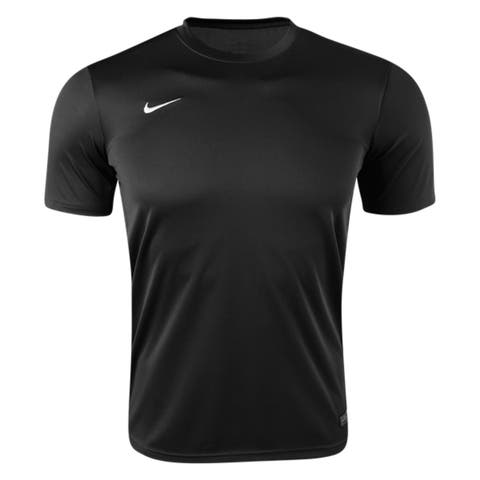 Nike Boys Tiempo II Soccer Jersey T-Shirt Black Size Youth
