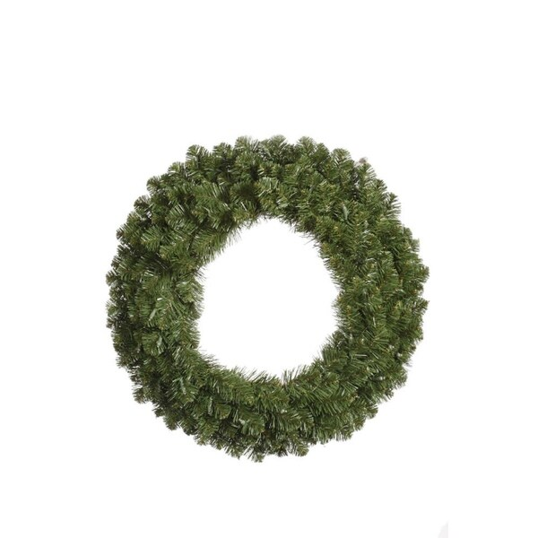 """60"""" Double-Sided Grand Teton Commercial Artificial Christmas Wreath - Unlit"""