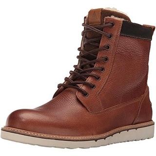 Aldo Mens Geran Leather Faux Fur Lined Winter Boots - 12 medium (d)