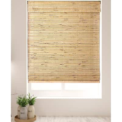 Arlo Blinds Petite Rustique Bamboo Roman Shades with 60 Inch Height