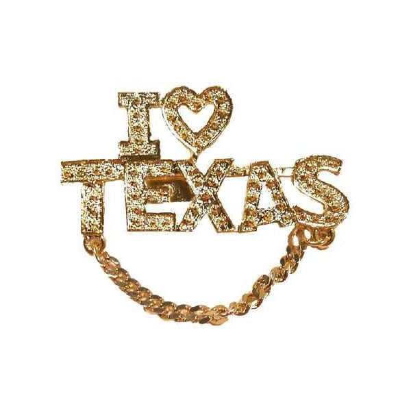 "Ddi Boutique Pin ""i Love Texas"" (pack Of 60)"