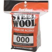 Red Devil 8Pk #000 Steel Wool 0321 Unit: PKG