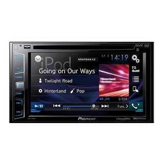 "Pioneer 6.2"" D.Din Dvd Receiver W/Btsat Rdy Remote Included"