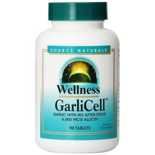SOURCE NATURALS - Wellness GarliCell 6000 mcg 90 Tablet 90 TABLET