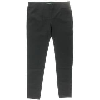 Lauren Ralph Lauren Womens Twill Pull On Skinny Pants