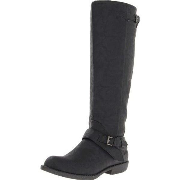 Blowfish Womens Axis Almond Toe Mid-Calf Fashion Boots