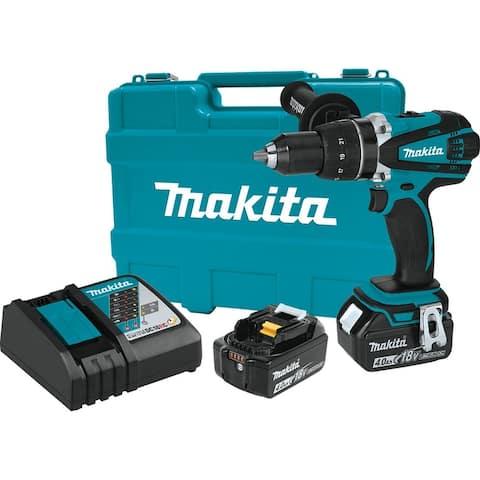 "Makita 18V LXT® Lithium-Ion Cordless 1/2"" Driver-Drill Kit"