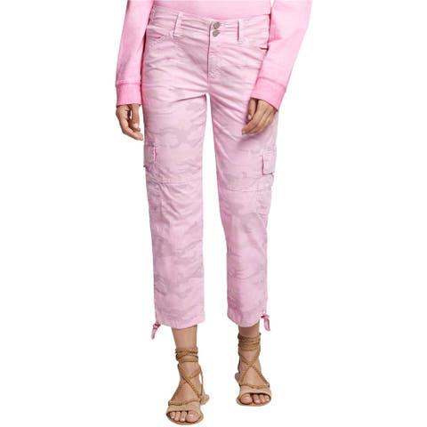 Sanctuary Clothing Womens Terrain Casual Cargo Pants, pink, 26