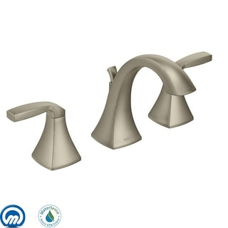 Moen T6905  Voss Double Handle Widespread Bathroom Faucet