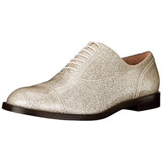 Marc Jacobs Womens Clinton Oxfords Patent Leather Shimmer - 8.5 medium (b,m)