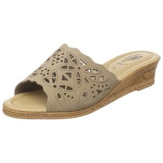 Women's Spring Step ESTELLA Fashion Wedge Slide Sandals