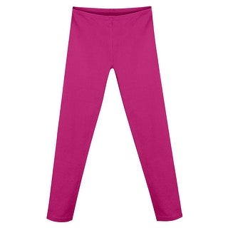 Hanes Girls' Cotton Stretch Leggings - Size - XL - Color - Amaranth