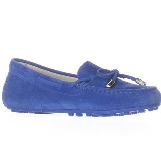 MICHAEL Michael Kors Daisy Moccasin Flats - Electric Blue