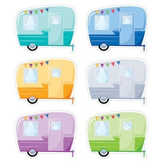 Vintage Trailers 6In Cut Outs