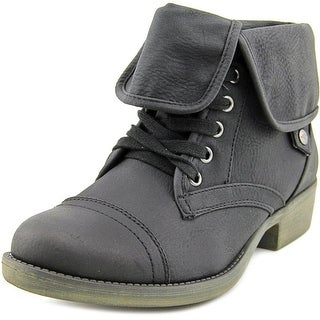 Rocket Dog Taylor Women  Round Toe Synthetic Black Ankle Boot