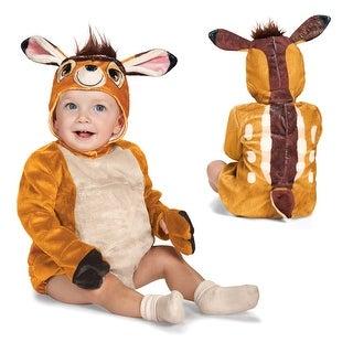 Infant Deluxe Bambi Deer Fawn Disney Costume