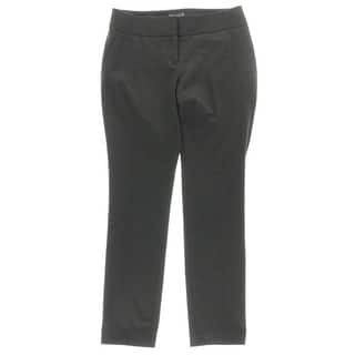 Vince Camuto Womens Petites Ankle Pants Ponte Stretch Black 4P|https://ak1.ostkcdn.com/images/products/is/images/direct/f92c05884193d4eabcfbb2374ed3c43cd761aebf/Vince-Camuto-Womens-Petites-Ankle-Pants-Ponte-Stretch-Black-4P.jpg?impolicy=medium